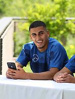 Aymen Barkok (Deutschland U20) - 29.05.2018: Presseveranstaltung und Autogrammstunde der Deutschen U20 Nationalmannschaft im Rahmen der WM-Vorbereitung der A-Nationalmannschaft in der Sportzone Rungg in Eppan/Südtirol