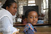 ETHIOPIA , orphanage home of the catholic chuch for HIV Aids orphans in Addis Ababa / AETHIOPIEN Addis Abeba, von christlichen Missionsschwestern geleitetes Waisenhaus fuer Waisenkinder und HIV Aids Waisen