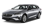 2021 Opel Insignia-Sports-Tourer Ultimate 5 Door Wagon Angular Front automotive stock photos of front three quarter view