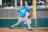 Amarillo Sod Poodles pitcher Kyle Lloyd (29) during a Texas League game against the Frisco RoughRiders on May 19, 2019 at Dr Pepper Ballpark in Frisco, Texas.  (Mike Augustin/Four Seam Images)