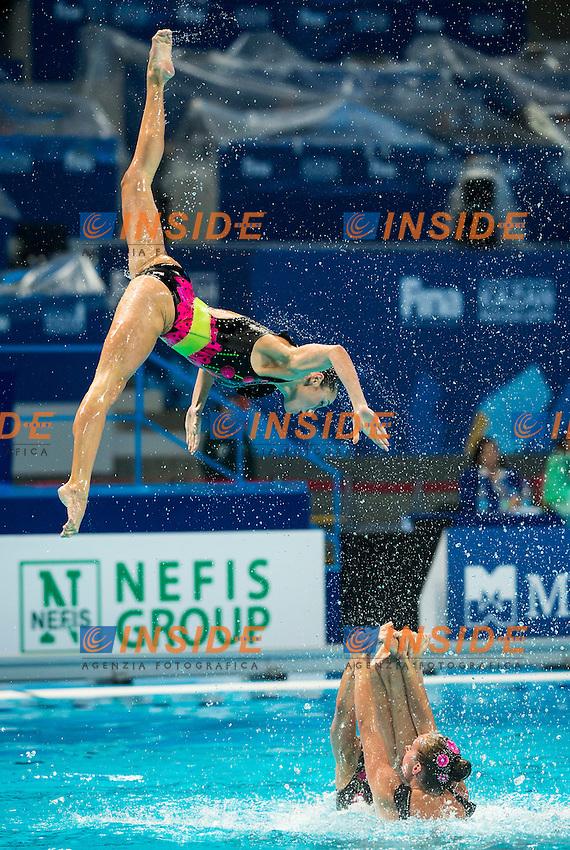 UKR - Ukraine<br /> ANANASOVA Lolita GRECHYKHINA Olena<br /> IUSHKO Daria KASHUBA Oleksandra<br /> REZNIK Kateryna SABADA Oleksandra<br /> SADURSKA Kateryna SAVCHUK Anastasiya<br /> SYDORENKO Kseniya VOLOSHYNA Anna<br /> Day 9 01/08/2015<br /> XVI FINA World Championships Aquatics<br /> Synchro<br /> Kazan Tatarstan RUS July 24 - Aug. 9 2015 <br /> Photo Giorgio Scala/Deepbluemedia/Insidefoto
