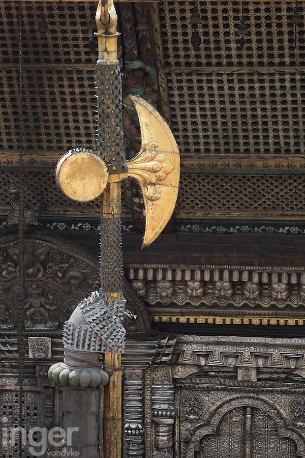 Building Decoration at Pashupatinath, Nepal