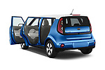 Car images close up view of 2018 KIA Soul EV Base 5 Door Hatchback doors