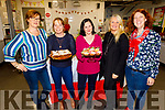 Kathleen Holmes, Anita Bodenham, Kristy Nowak, Elaine Clancy and Rachel Fitzgerald ready to enjoy the Christmas Polish food and demonstrating how to make Pierogi in Mercy Mounthawk on Thursday night.