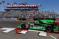 #1 HPD ARX-03b of Scott Sharp and Ryan Dalziel, Long Beach Grand Prix, Long Beach, CA, April 2014.  (Photo by Brian Cleary/ www.bcpix.com )  Long Beach Grand Prix, Long Beach, CA, April 2014.  (Photo by Brian Cleary/ www.bcpix.com )