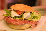 Sandwich, All'Antico Restaurant, Florence, Tuscany, Italy
