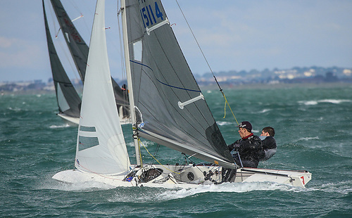 Fireball Leinster honours are up for grabs at Volvo Dun Laoghaire Regatta 2021 Photo: Afloat