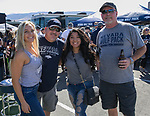 Sabrina, Pete, Monique and Dennis during the Nevada vs Weber State football game in Reno, Nevada on Saturday, Sept. 14, 2019.