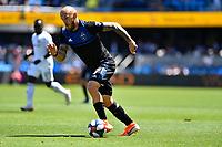SAN JOSE, CA - JUNE 8: Magnus Eriksson #7 during a game between FC Dallas and San Jose Earthquakes at Avaya Stadium on June 8, 2019 in San Jose, California.