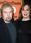Kevin Conway and Geraldine Newman attending the Opening Night Performance of THE LITTLE DOG LAUGHED at the Second Stage Theatre with an after party at Planet Holllywood in New York City.<br />December 9, 2006
