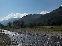 in den Myohyang-Bergen, Nordkorea, Asien<br />  Myoohyang-Mountains, North Korea, Asia
