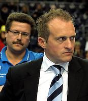 Handball Frauen / Damen  / women 1. Bundesliga - DHB - HC Leipzig : Frankfurter HC - im Bild: HCL Manager Kay-Sven Hähner. Porträt . Foto: Norman Rembarz .