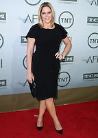 HOLLYWOOD, LOS ANGELES, CA, USA - JUNE 05: Mary McCormack at the 42nd AFI Life Achievement Award Honoring Jane Fonda held at the Dolby Theatre on June 5, 2014 in Hollywood, Los Angeles, California, United States. (Photo by Xavier Collin/Celebrity Monitor)