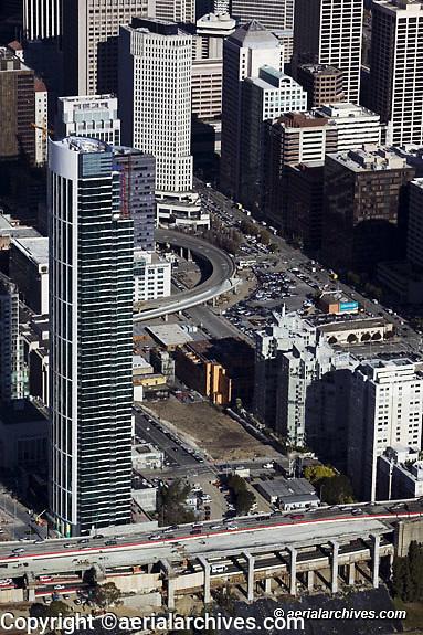 aerial photograph One Rincon Hill, San Francisco, California