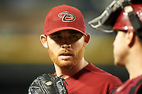 Arizona Diamondbacks starting pitcher Ian Kennedy #31 during a National League regular season game against the Colorado Rockies at Chase Field on October 3, 2012 in Phoenix, Arizona. Colorado defeated Arizona 2-1. (Mike Janes/Four Seam Images)