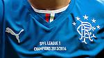 Rangers shirt detail