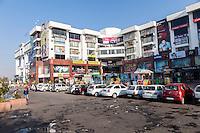 Jaipur, Rajasthan, India.  Modern Shopping Center.
