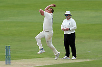 Luke Fletcher of Nottinghamshire in bowling action during Essex CCC vs Nottinghamshire CCC, LV Insurance County Championship Group 1 Cricket at The Cloudfm County Ground on 6th June 2021