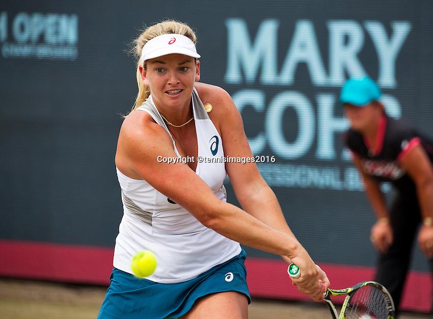 Den Bosch, Netherlands, 10 June, 2016, Tennis, Ricoh Open, Coco Vandeweghe (USA)<br /> Photo: Henk Koster/tennisimages.com