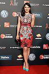 Actress Andrea Duro Barcelona 5th AIDS Ceremony. November 24,2014.(ALTERPHOTOS/Acero)