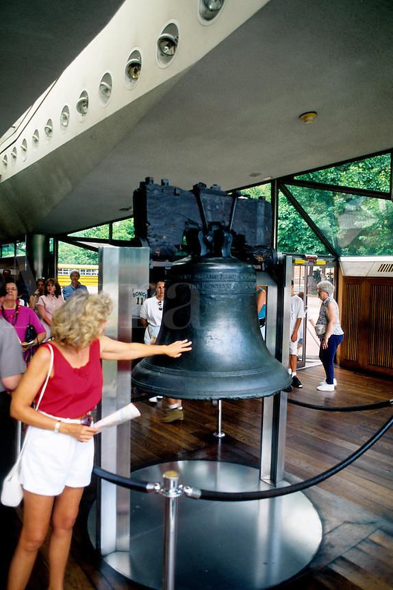 Historic Liberty Bell, Philadelphia, Pennsylvania