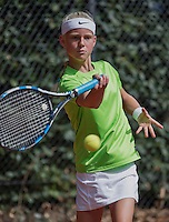 Hilversum, Netherlands, August 10, 2016, National Junior Championships, NJK, Charlotte van Zonneveld (NED)<br /> Photo: Tennisimages/Henk Koster