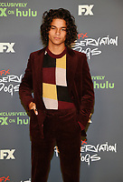 """BEVERLY HILLS, CA - AUGUST 4: Cast member D'Pharaoh Woon-A-Tai attends the FX Networks 2021 Summer Television Critics Association session for """"Reservation Dogs"""" at the Beverly Hilton on August 4, 2021 in Beverly Hills, California. (Photo by Frank Micelotta/FX/PictureGroup)"""