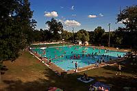 Over looking Deep Eddy Pool in Austin, Texas, USA