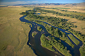 Madison River before it reaches the Missouri