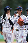 #19 Himeno Mayu of Japan during the BFA Women's Baseball Asian Cup match between Japan and Hong Kong at Sai Tso Wan Recreation Ground on September 5, 2017 in Hong Kong. Photo by Marcio Rodrigo Machado / Power Sport Images