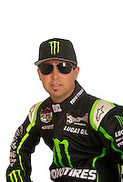 Mar. 18, 2011; Chandler, AZ, USA;  LOORRS driver Jeremy McGrath poses for a portrait at Firebird International Raceway. Mandatory Credit: Mark J. Rebilas