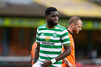22nd August 2020; Tannadice Park, Dundee, Scotland; Scottish Premiership Football, Dundee United versus Celtic; Odsonne Edouard of Celtic as play breaks down