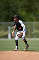 Ryan Ritter during the WWBA World Championship at the Roger Dean Complex on October 19, 2018 in Jupiter, Florida.  Ryan Ritter is a shortstop from Tinley Park, Illinois who attends Lincoln Way East High School and is committed to Austin Peay.  (Mike Janes/Four Seam Images)