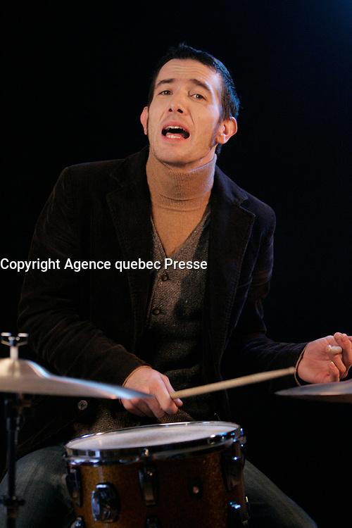 Montreal (Qc) CANADA - Oct 22, 2008 -<br /> <br /> Hugo St-Cyr<br /> <br /> CREDITS OBLIGATOIRES :<br /> Photo (c)  2008,  Pierre Roussel<br /> Maquillage, coiffure et stylisme : Vincent Morin