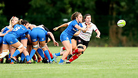24 August 2019; Molly Scuffil McCabe during the Women's Interprovincial Championship match between Ulster and Leinster at Armagh RFC in Armagh. Photo by John Dickson / DICKSONDIGITAL