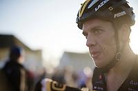 Tom Meeusen (BEL/Telenet-Fidea) post-race<br /> <br /> Elite Men's race<br /> Koppenbergcross 2015