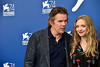 U.S. actors Ethan Hawke, left, and Amanda Seyfried attend a photo call for the movie 'Reformed' at the 74th Venice Film Festival, Venice Lido, August 31, 2017. <br /> UPDATE IMAGES PRESS/Marilla Sicilia<br /> <br /> *** ONLY FRANCE AND GERMANY SALES ***