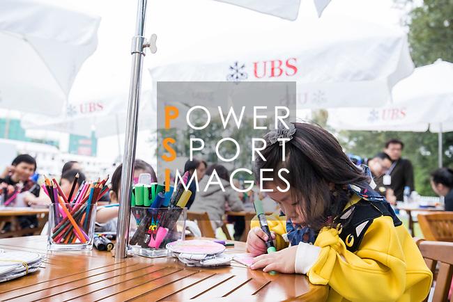 UBS Junior Art Hub during the day three of UBS Hong Kong Open 2017 at the Hong Kong Golf Club on 25 November 2017, in Hong Kong, Hong Kong. Photo by Yu Chun Christopher Wong / Power Sport Images