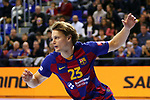 VELUX EHF 2019/20 EHF Men's Champions League Group Phase - Round 8.<br /> FC Barcelona vs Aalborg Handbold: 44-35.<br /> Jure Dolenec.