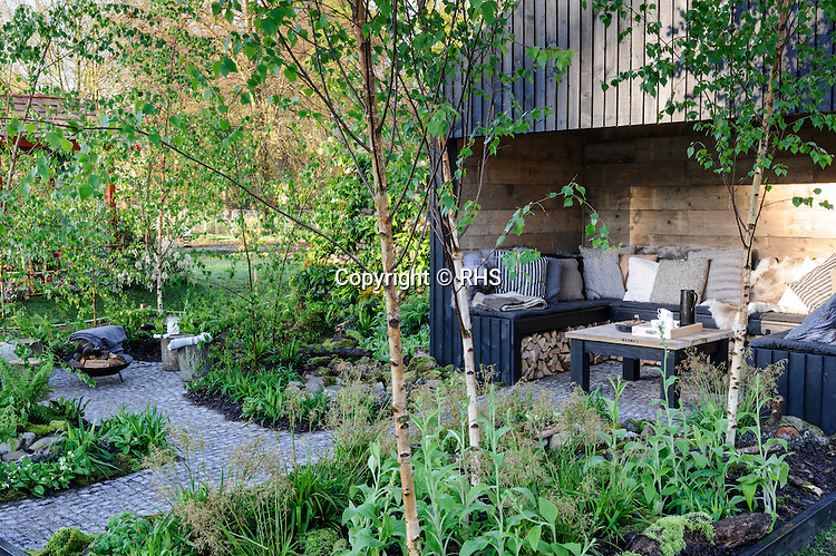 From Hordaland To Cardiff A Norwegian Garden In Wales Designed By Victoria Wade Rhs Show Cardiff 2014 Rhs Press Images