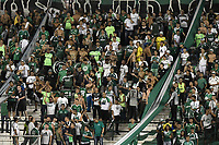 PALMIRA - COLOMBIA, 22-05-2019: Hinchas del Cali animan a su equipo durante partido entre Deportivo Cali de Colombia y Club Atlético Peñarol de Uruguay por la segunda ronda de la Copa CONMEBOL Sudamericana 2019 jugado en el estadio Deportivo Cali de la ciudad de Palmira. / Fans of Cali cheer for their team during match for the second round as part Copa CONMEBOL Sudamericana 2019 between Deportivo Cali of Colombia and Club Atletico Peñarol of Uruguay at Deportivo Cali stadium in Palmira city. Photo: VizzorImage / Alejandro Rosales / Cont