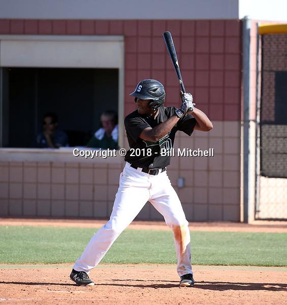 Antoine Mistico - 2018 Scottsdale Community College Artichokes (Bill Mitchell)