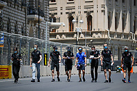 3rd June 2021; Baku, Azerbaijan;  ALONSO Fernando (spa), Alpine F1 A521,  trackwalk during the Formula 1 Azerbaijan Grand Prix 2021 at the Baku City Circuit, in Baku, Azerbaijan