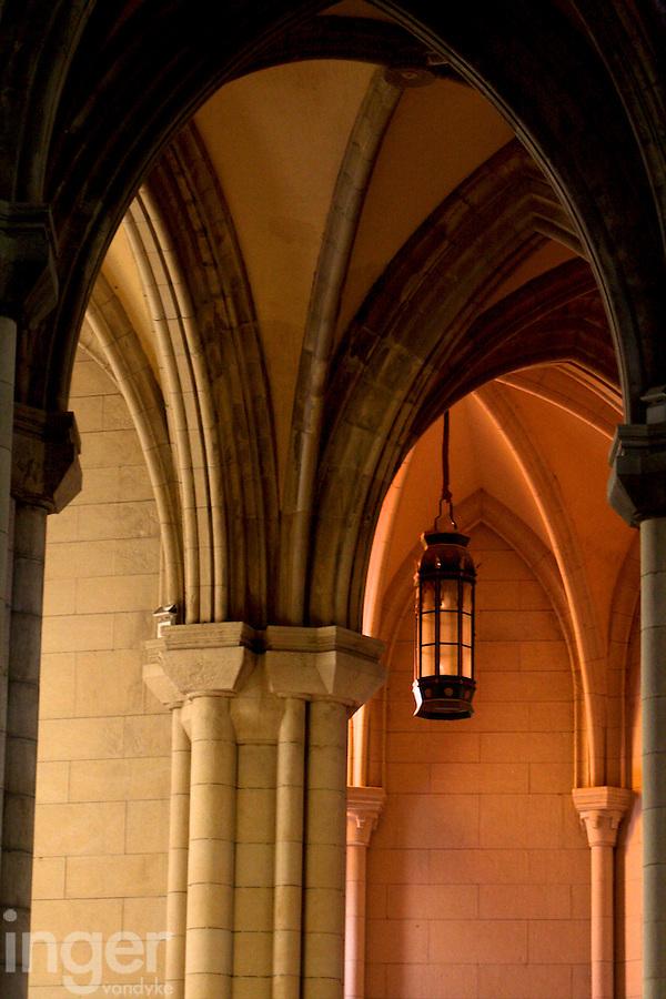 Church interior in Toledo, Spain