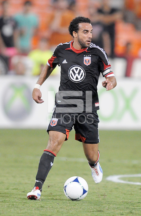 D.C. United forward Dwayne De Rosario (7) D.C. United defeated The Chicago Fire 4-2 at RFK Stadium, Wednesday August 22, 2012.