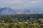 """A mile-high view, looking west to Boulder's Flatirons from Panorama Point, Denver. John's 5th book: """"Denver Colorado: A Photographic Portrait."""" <br /> Private photo tours of Denver by John. Click the above CONTACT button for inquiries. John offers private photo tours of Denver, Boulder and Rocky Mountain National Park."""