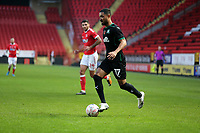Byron Moore of Plymouth Argyle during Charlton Athletic vs Plymouth Argyle, Emirates FA Cup Football at The Valley on 7th November 2020