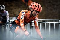 Defending World Champion Inge Vanderheijden (NED)<br /> <br /> Women's U23 race<br /> UCI 2020 Cyclocross World Championships<br /> Dübendorf / Switzerland<br /> <br /> ©kramon