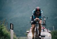 Adam Hansen (AUS/Lotto-Soudal)<br /> <br /> stage 16: Trento – Rovereto iTT (34.2 km)<br /> 101th Giro d'Italia 2018