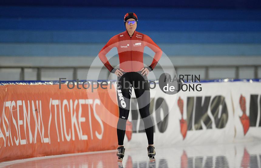 SCHAATSEN: HEERENVEEN: 10-10-2020, KNSB Trainingswedstrijd, Femke Beuling, ©foto Martin de Jong